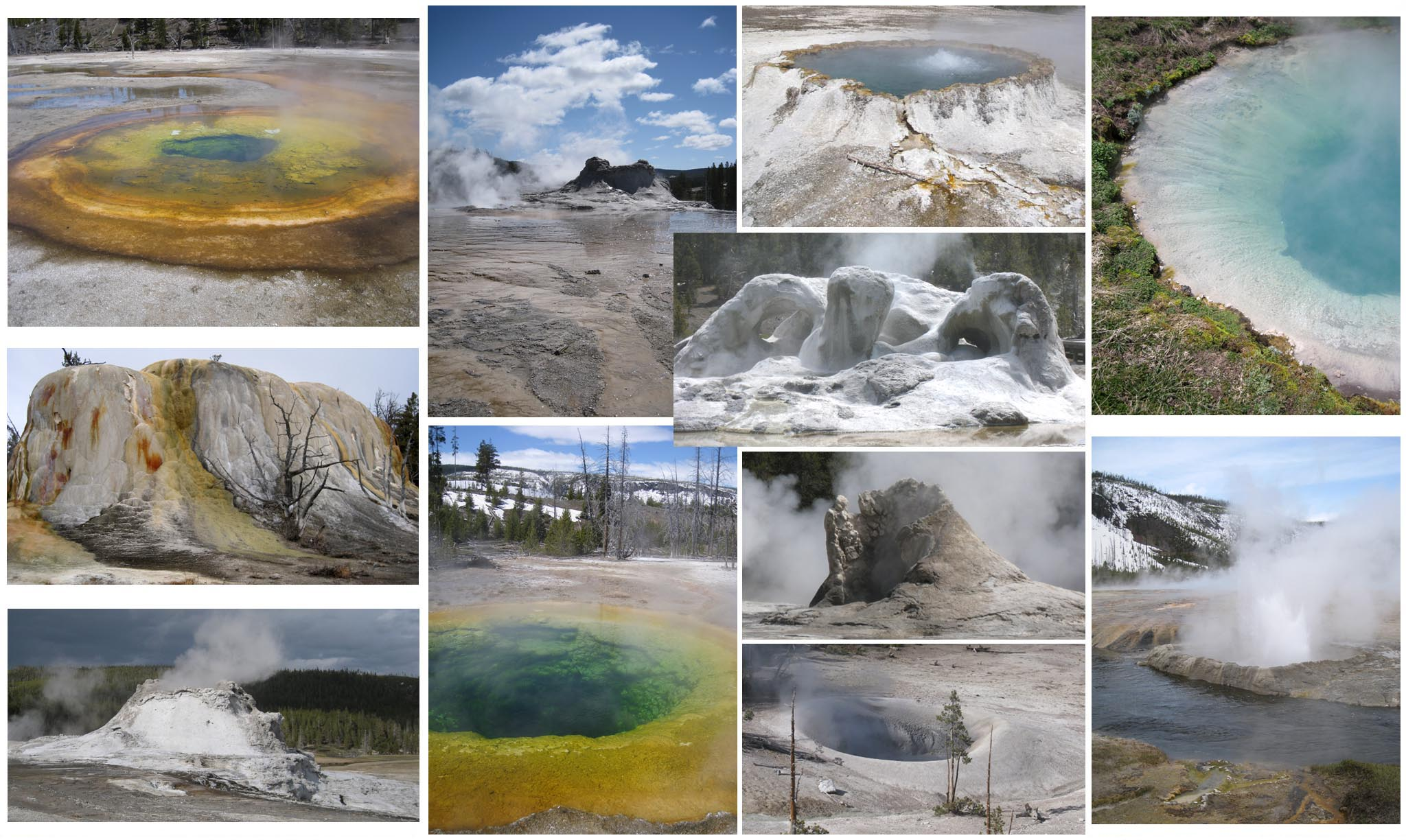 USA - Wyoming - Yellowstone National Park  //  Geysers, Pools, and Fumaroles